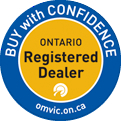 Herb White Automotive is an Ontario Registered Dealer - Buy with Confidence
